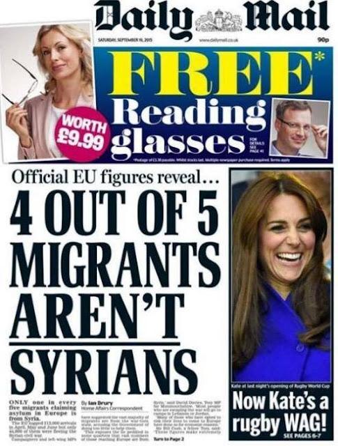 ΟΙ ΤΕΣΣΕΡΙΣ ΣΤΟΥΣ ΠΕΝΤΕ ΠΡΟΣΦΥΓΕΣ ΔΕΝ ΕΙΝΑΙ ΣΥΡΙΟΙ!!!