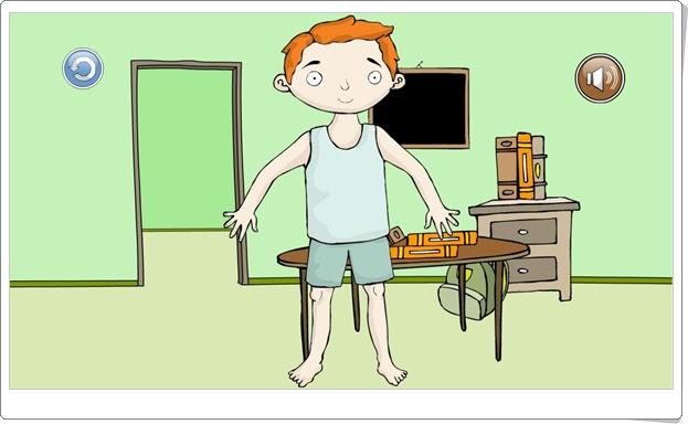 """Juega con Bartolo: """"Adivina lo que es"""" (Partes del cuerpo humano en Educación Infantil)"""