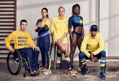 Rio 2016 - Uniformes Suecia