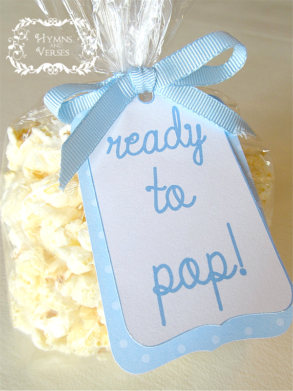 It's a Boy! - Baby Shower Ideas - Hymns and Verses