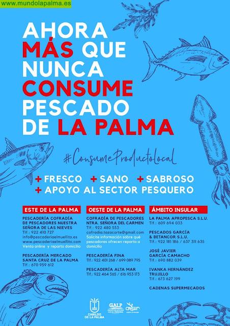 Campaña de consumo de pescado en La Palma