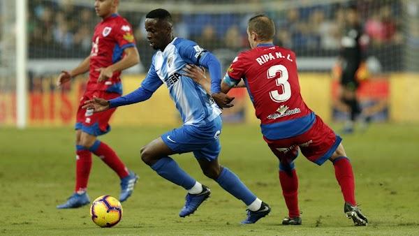 """Mamadou Koné - Málaga -: """"Estoy muy feliz de jugar de titular y ganar el partido"""""""
