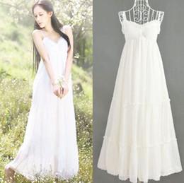 Summer Best White Casual Wedding Dresses Beach