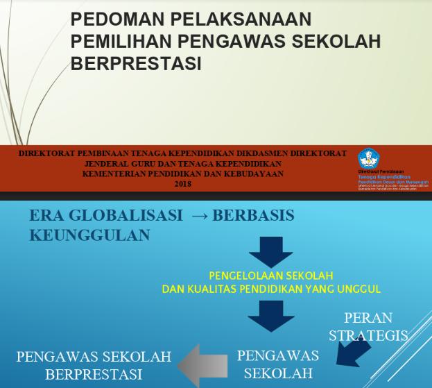 Pedoman Pemilihan Pengawas Berprestasi Tahun 2018