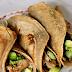 Pannenkoek wrap met vegetarische kipstuckjes en avocado