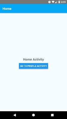 Navigating Between Screens or Activities Using React Navigation Library - Android