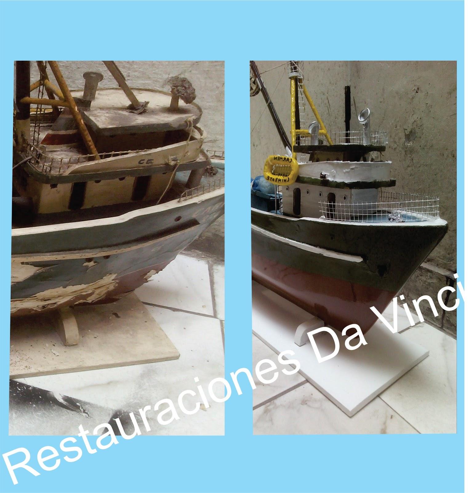 Clinica de juguetes y antiguedades restauraci n de un - Antiguedades de barcos ...