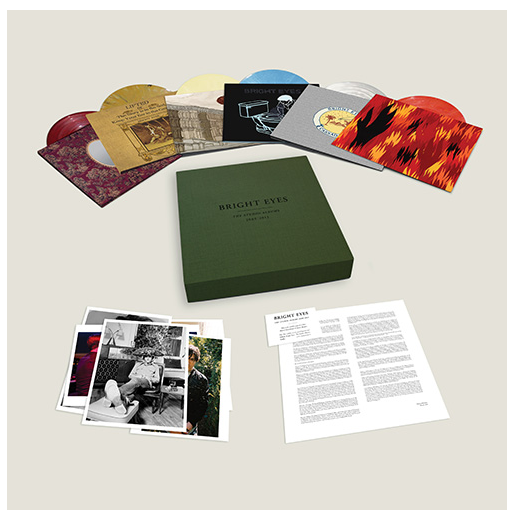Bright Eyes Studio Albums box set