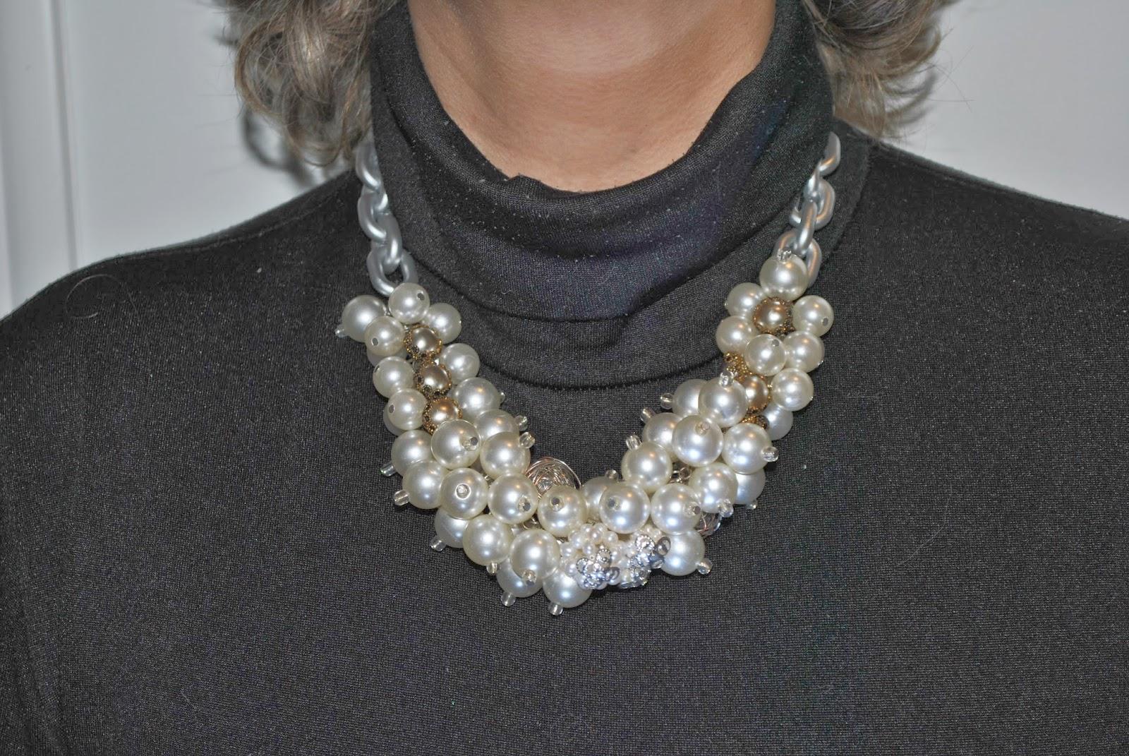 Diy collar inspirado en Dior