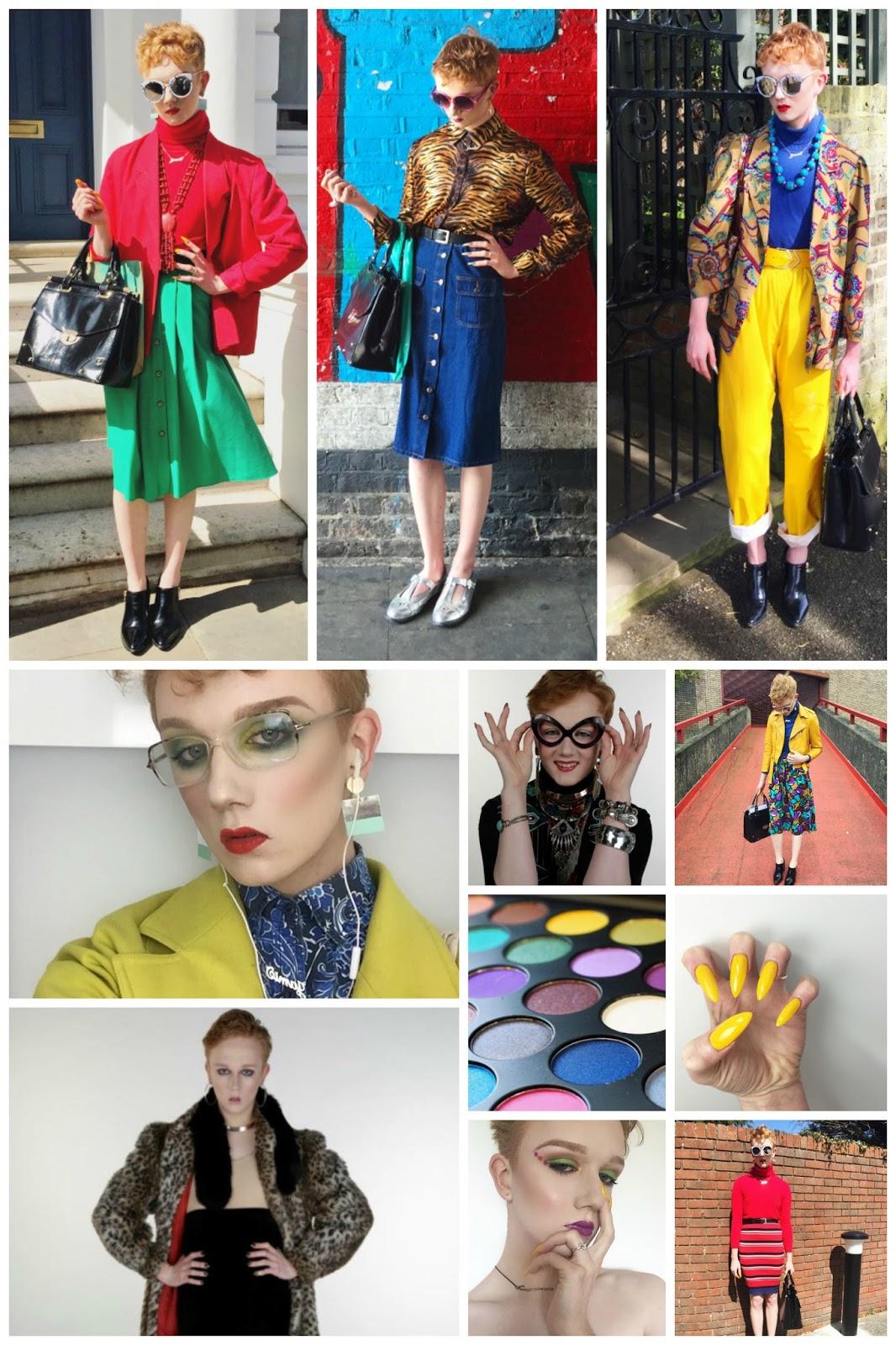blog crush, blogger crush, favourite blogger, style blogger, uk blogger, Leopard Print elephant, fashion student, colourful 80s style