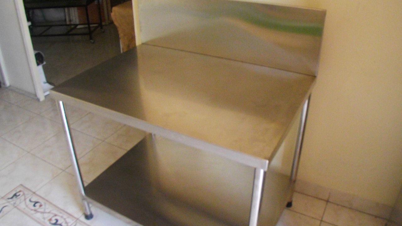 Meja kompor stainless for Harga kitchen set stainless per meter