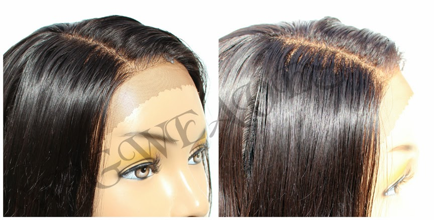 Custom Lace Front Wigs, Closures & Frontals