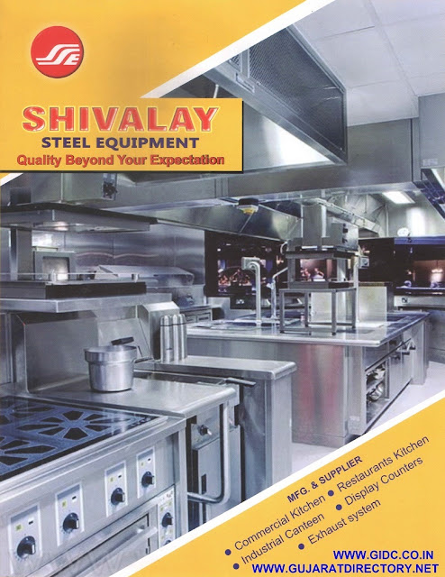 SHIVALAY STEEL EQUIPMENT  857/3, Makarpura GIDC, Vadodara - 390010  9687135267  9904277083