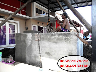 tandon air beton tanam sampang bangkalan