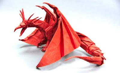 hướng dẫn gấp giấy origami con rồng