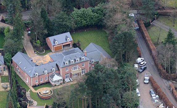 Top 10 most expensive homes of footballers, Drogba comes tops