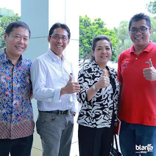 Menteri BUMN, Rini Soemarno ajak para perusahaan BUMN dan UKM binaannya untuk manfaatkan e-commerce lewat portal marketplace milik PT. Telkom Indonesia, blanja.com.
