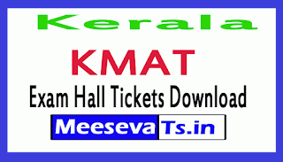 Kerala KMAT Exam Hall Ticket