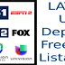 Lista Latino usa uk spain pt espn bein fox