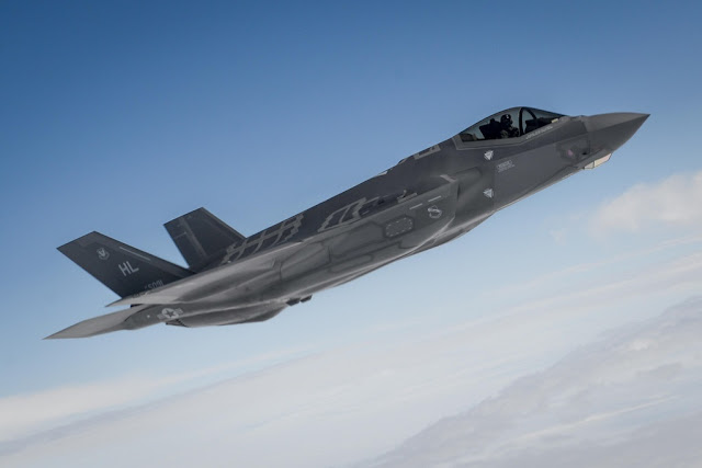 USAF selected F-35 locations