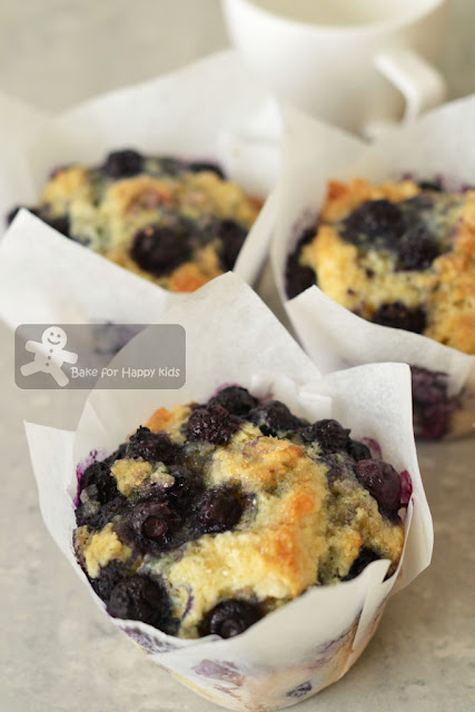 easy blueberry muffins Donna Hay
