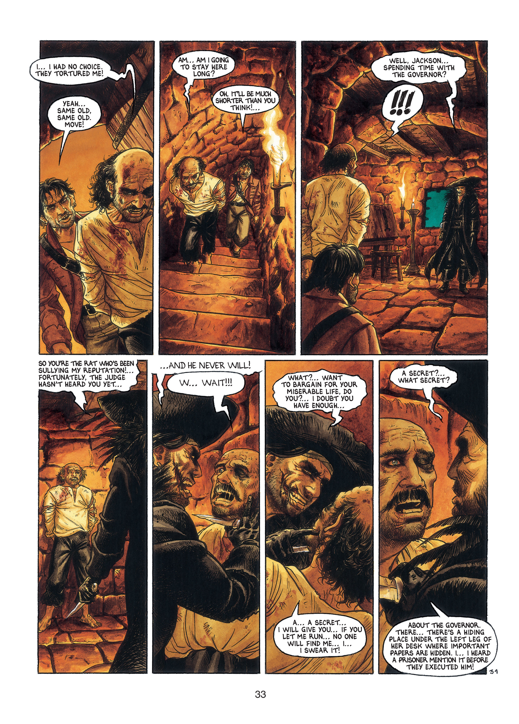 Read online Barracuda comic -  Issue #3 - 34