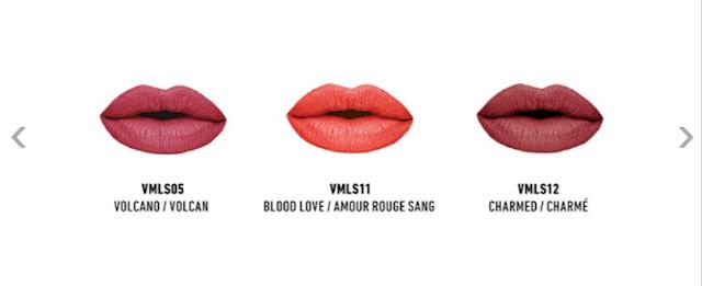 NYX PROFESSIONAL MAKEUP Velvet Matte Lipstick - Set 1