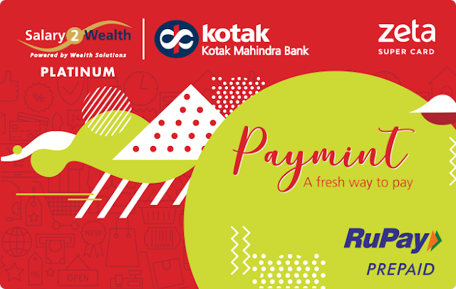 Kotak Mahindra Bank and Zeta launch Paymint – a multi-wallet digital prepaid solution for salaried employees