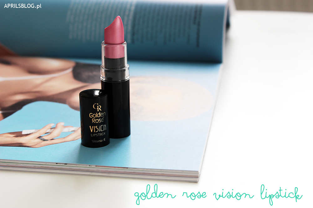 golden rose vision szminka