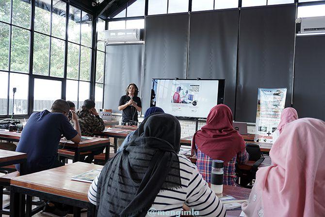 Pembukaan Workshop Vlog bersama Kharisma Cendhika Putra