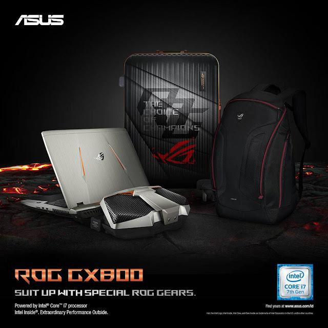 Spesifikasi Harga ASUS ROG GX800