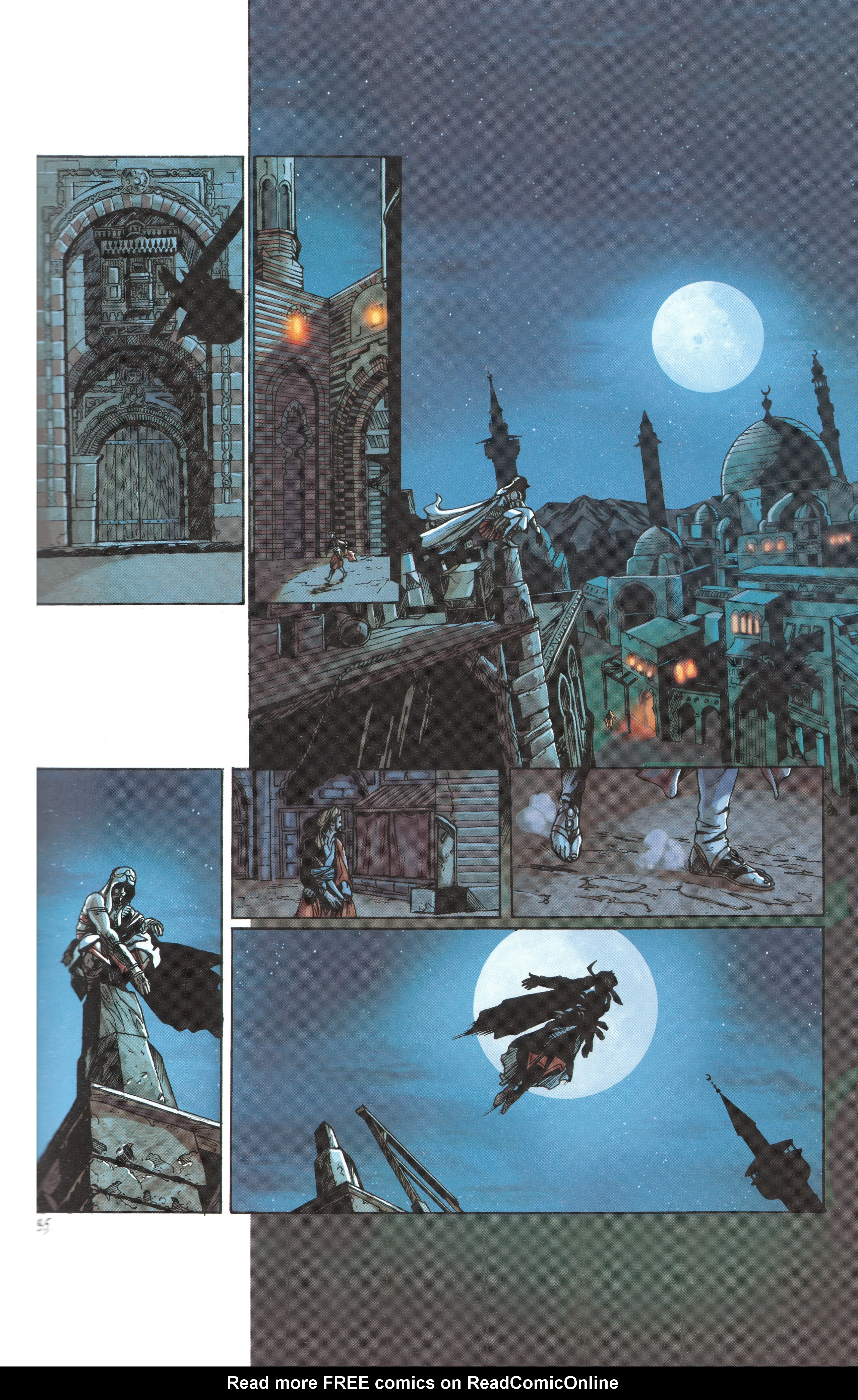 Read online Assassin's Creed (2012) comic -  Issue #4 - 37