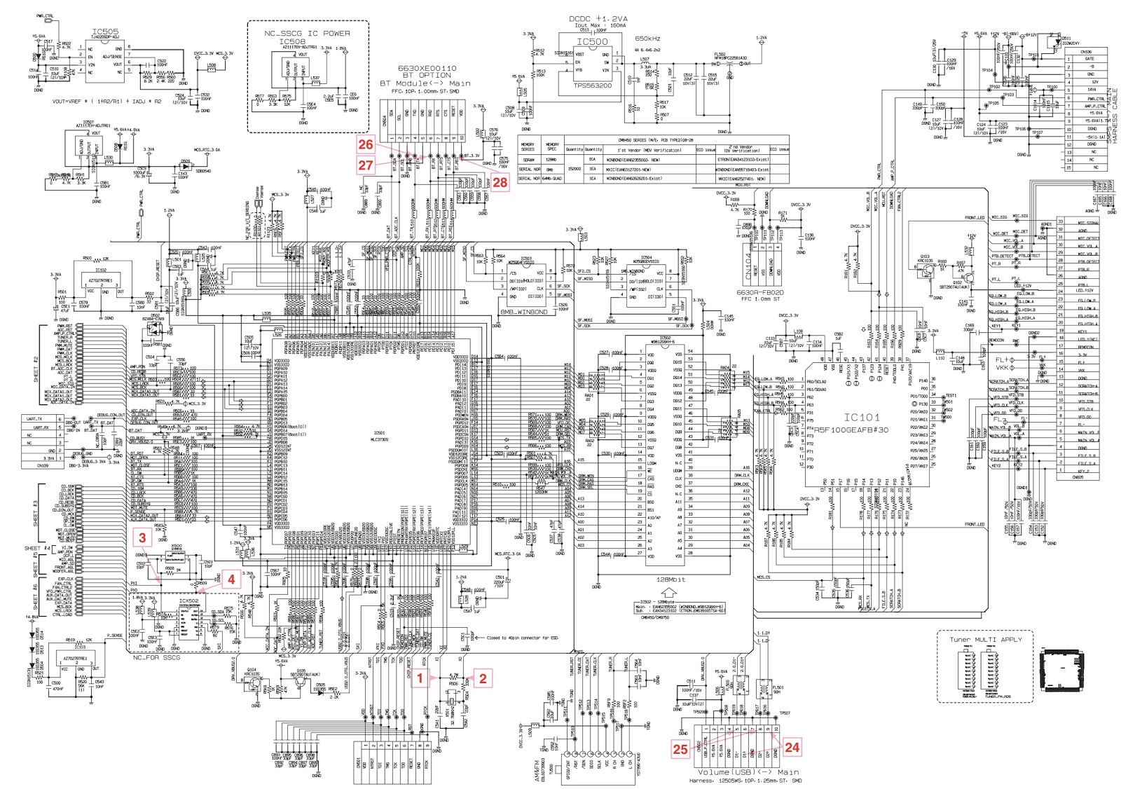 Lg Cm Troubleshooting And Circuit Diagram Mini Hi Fi