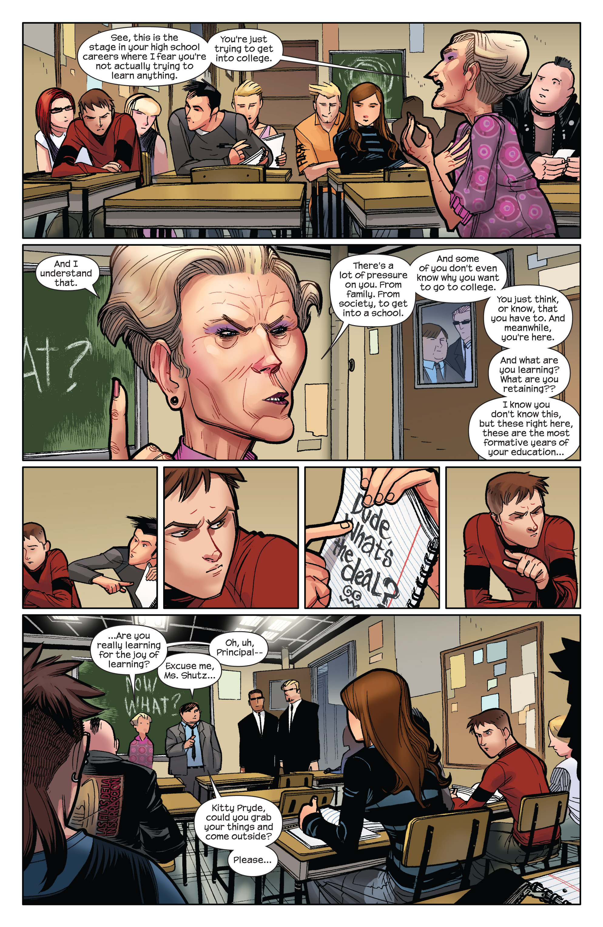 Read online Ultimate Spider-Man (2009) comic -  Issue #9 - 19