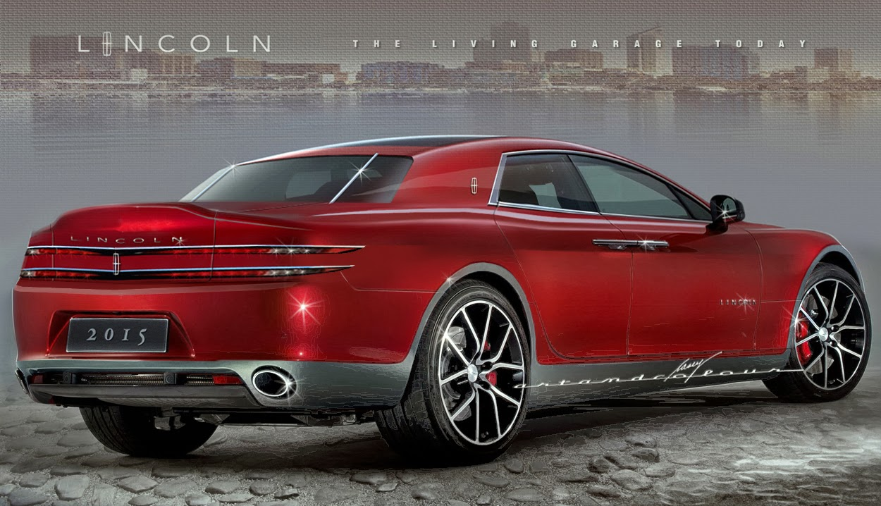 Casey/artandcolour/cars: Lincoln Continental Starts Off