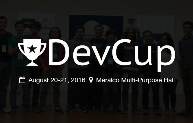 DevCup 2016 Hackathon