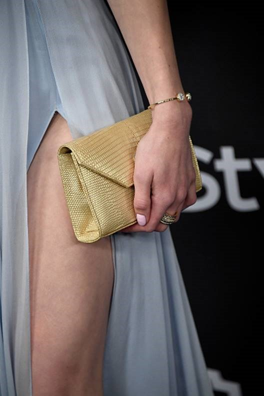 Greer Grammer Clutch Bracelet and Ring