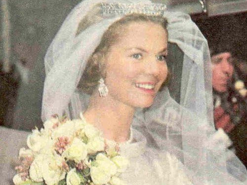 Królewskie Śluby - książę Kentu (Edward) i księżna Kentu (Katharine).