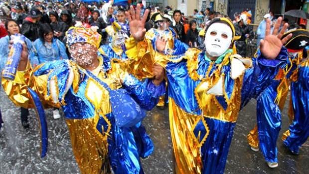 El carnaval, entre las tres actividades festivas con mayor participación de los paceños