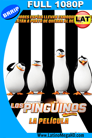 Los Pinguinos De Madagascar (2014) Latino Full HD 1080P ()