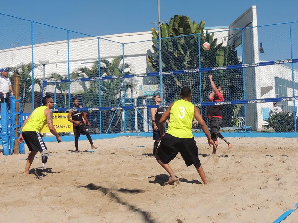 a304bf72bd Vôlei Paralímpico de Praia busca inclusão nos Jogos Parolímpicos de Los  Angeles 2028