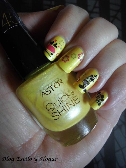 Estilo y hogar: Manicura #7 Happy Stile con esmalte de uñas Astor.