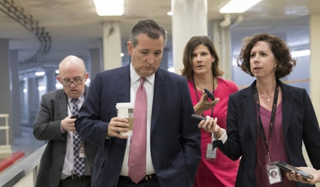 CNN: Why Is Ted Cruz Afraid To Talk To Us About Guns? Cruz: I Gave You A 15-Minute Interview Yesterday
