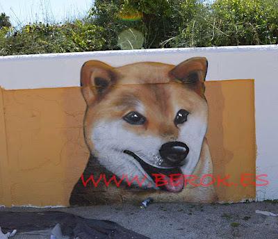 Graffiti Perros Cubelles