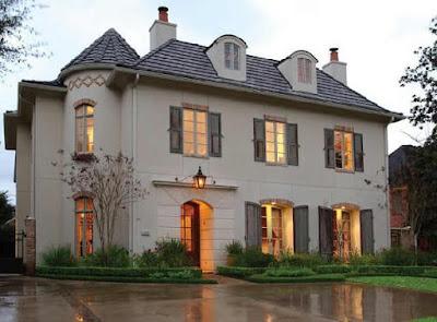 แบบบ้านสไตล์ฝรั่งเศส