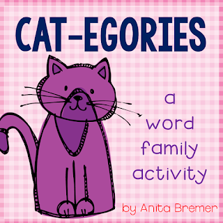 A fun way to practice word families and rhyming words- perfect as a literacy center!