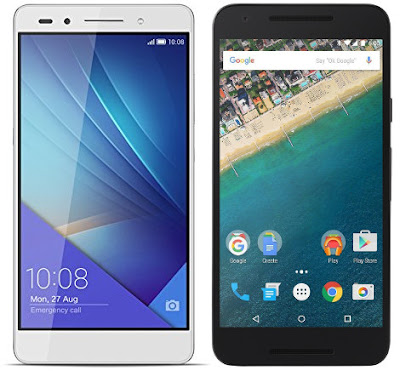 Huawei Honor 7 vs LG Nexus 5X