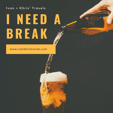 Take a break in order to regain your drive to write