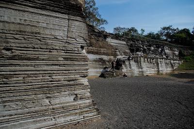 Parque do Varvito - Itu - Paredão de varvito principal