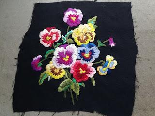 prepare embroidery for fleece cushion cover craftrebella